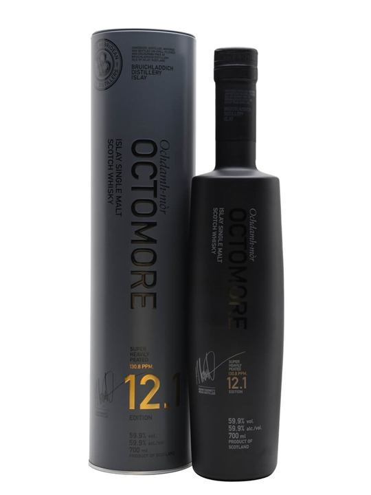 Octomore Edition 12.1 / 5 Year Old / The Impossible Equation Islay Whisky