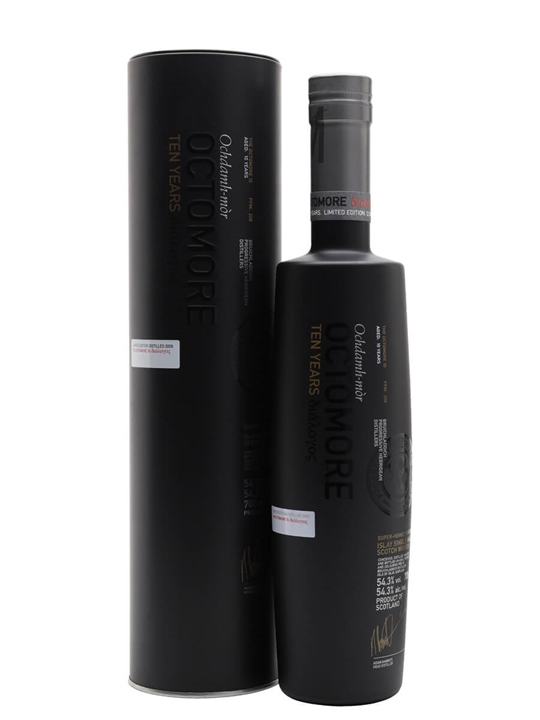 Octomore 2009 / 10 Year Old / Fourth Edition Islay Whisky