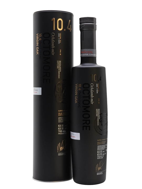 Octomore 10.4 / 3 Year Old Islay Single Malt Scotch Whisky