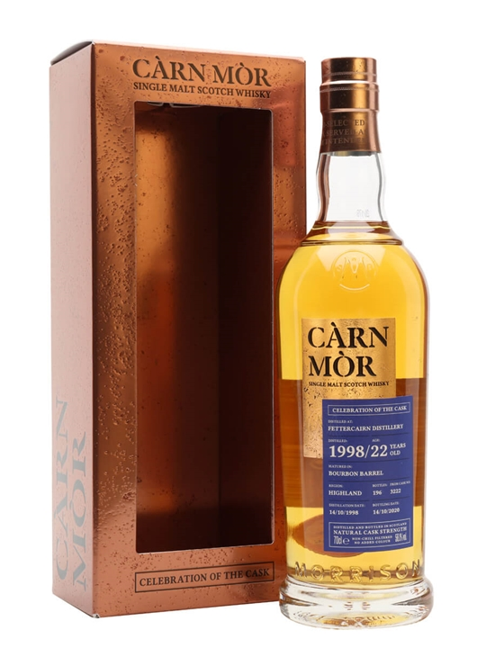 Fettercairn 1998 / Celebration of the Cask / Carn Mor Highland Whisky
