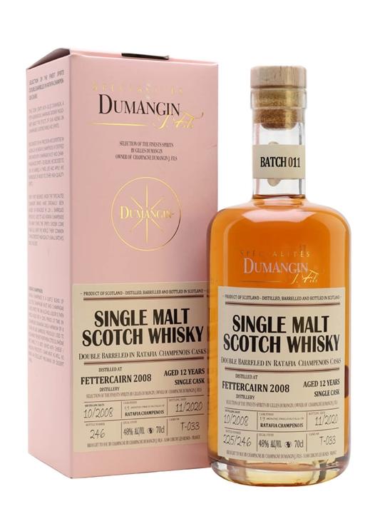 Fettercairn 2008 / Dumangin Batch 11 Highland Whisky