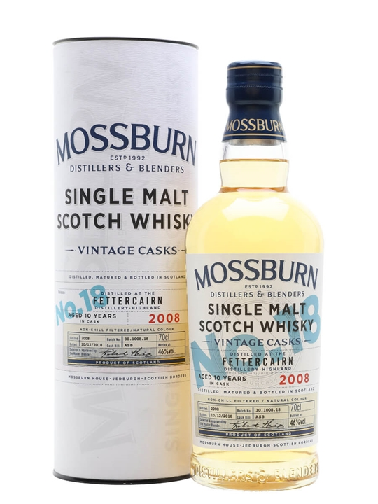 Fettercairn 2008 / 10 Year Old / Vintage Casks #18 /Mossburn Highland Whisky