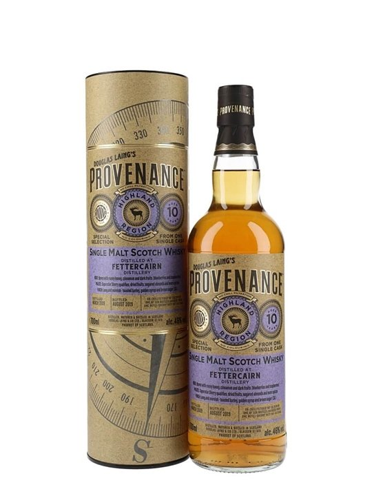 Fettercairn 2009 / 10 Year Old / Provenance Highland Whisky