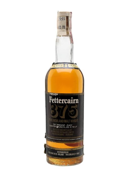 Fettercairn 875 / 8 Year Old / Bot.1960s Highland Whisky