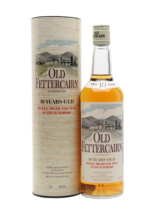 Old Fettercairn 10 Year Old / Bot.1980s Highland Whisky