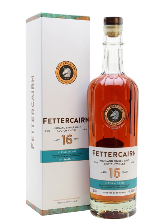 Fettercairn 16 Year Old / 1st Release 2020 Highland Whisky