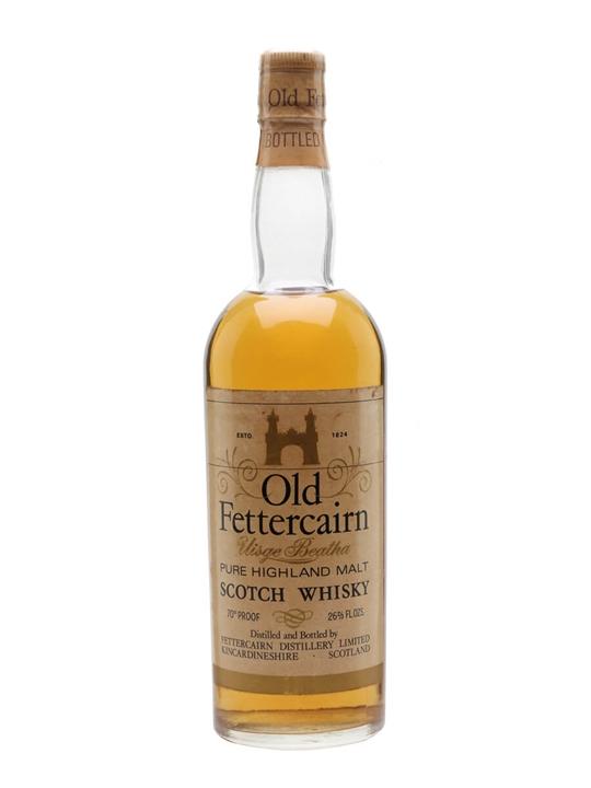 Old Fettercairn / Bot.1970s Highland Single Malt Scotch Whisky