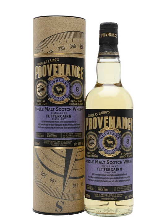 Fettercairn 2012 / 8 Year Old / Provenance Highland Whisky