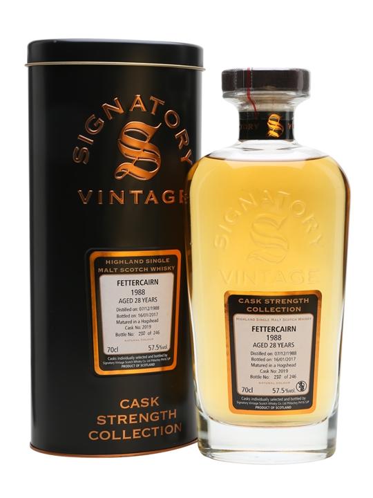 Fettercairn 1988 / 28 Year Old / Casks #2019 / Signatory Highland Whisky