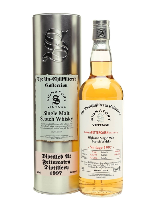 Fettercairn 1997 / 19 Year Old / Cask #5624+5625 Highland Whisky