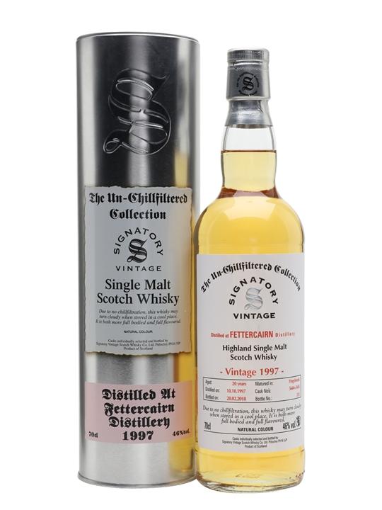 Fettercairn 1997 / 20 Year Old / Signatory Highland Whisky