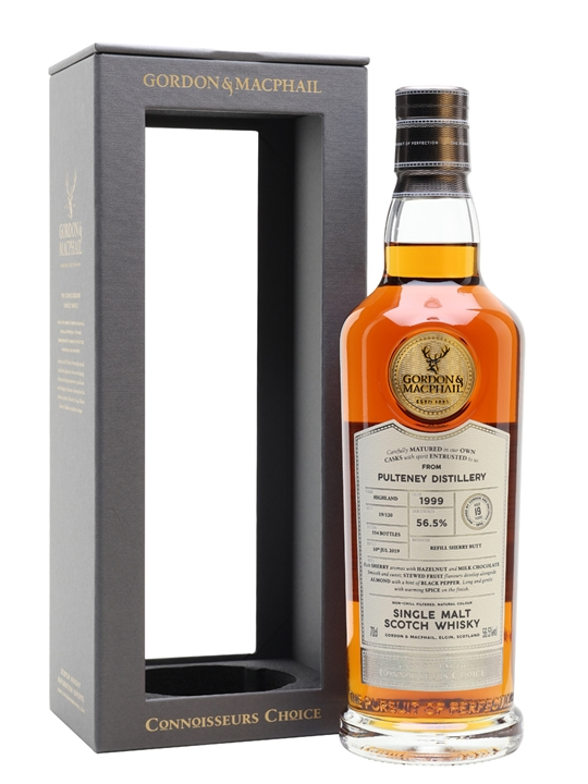 Pulteney 1999 / 19 Year Old / Sherry Cask / CC Highland Whisky