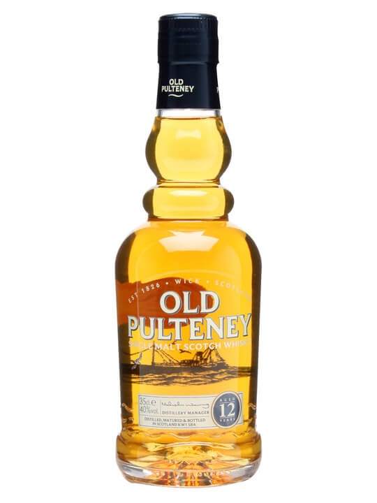 Old Pulteney 12 Year Old / Half Bottle Highland Whisky