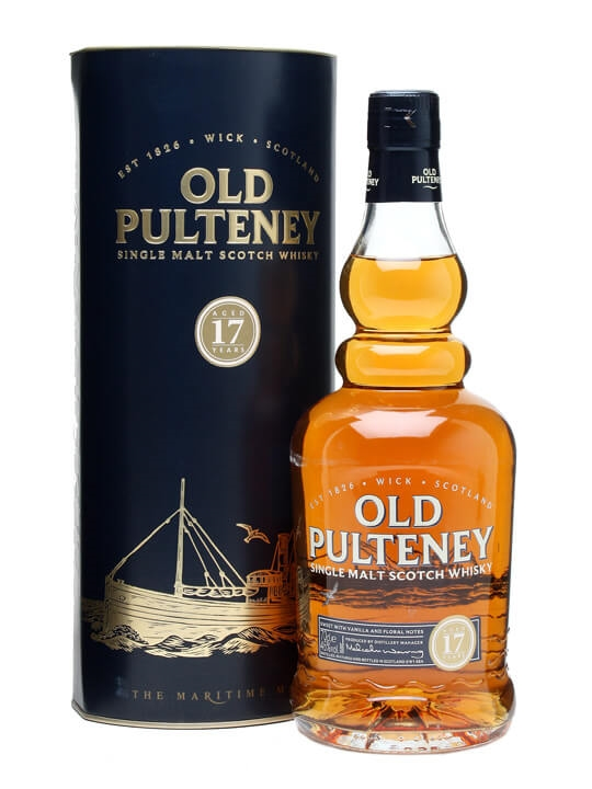 Old Pulteney 17 Year Old Highland Single Malt Scotch Whisky
