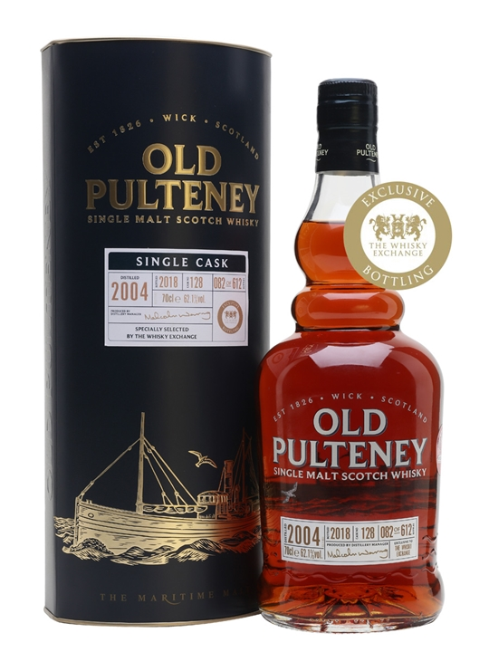 Old Pulteney 2004 / Single Cask #128 / TWE Exclusive Highland Whisky