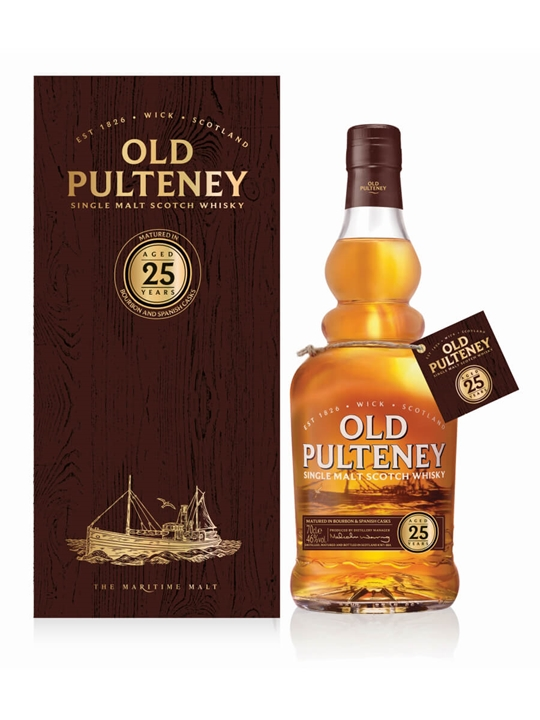 Old Pulteney 25 Year Old / 2017 Release Highland Whisky