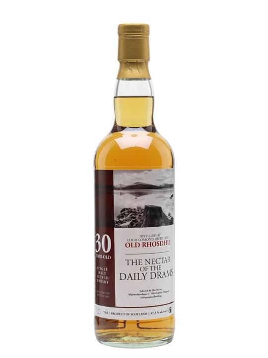 Old Rhosdhu 1990 / 30 Year Old / Daily Dram Highland Whisky
