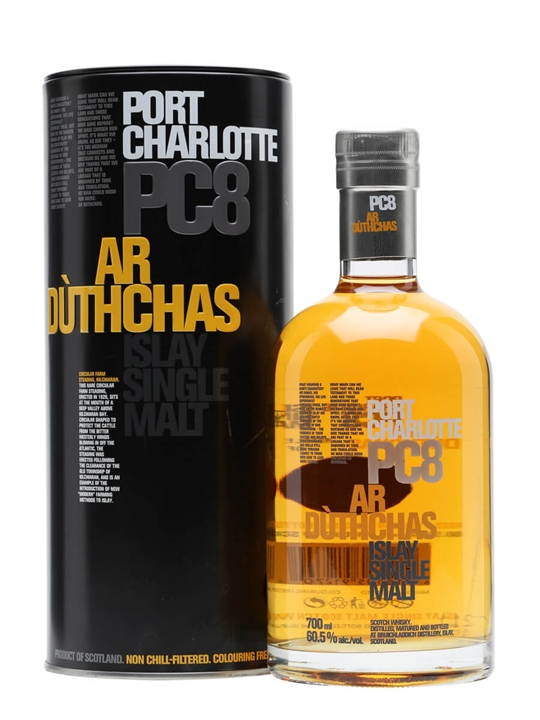 Port Charlotte PC8 / Ar Duthchas Islay Single Malt Scotch Whisky