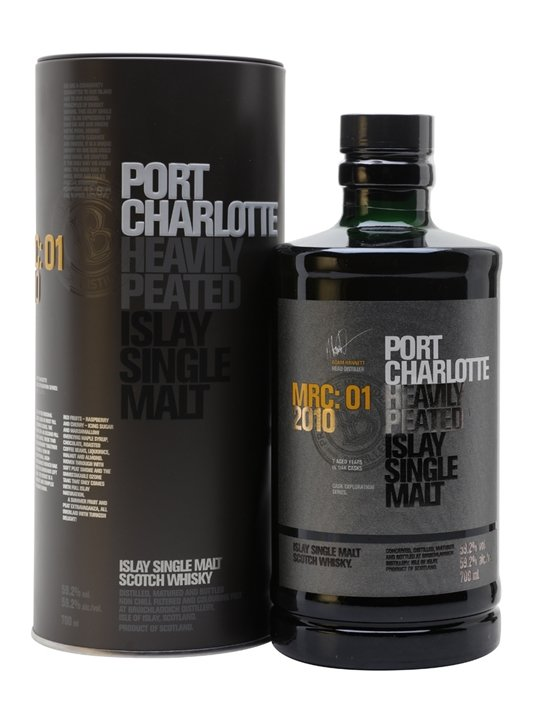 Port Charlotte 2010 MRC:01 Islay Single Malt Scotch Whisky