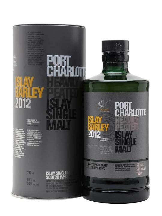 Port Charlotte 2012 / Islay Barley / Heavily Peated Islay Whisky