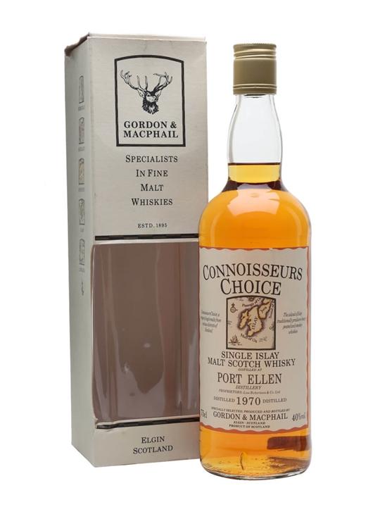 Port Ellen 1970 / Connoisseurs Choice Islay Single Malt Scotch Whisky