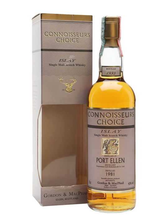 Port Ellen 1981 / Bot.1999 / Connoisseurs Choice Islay Whisky