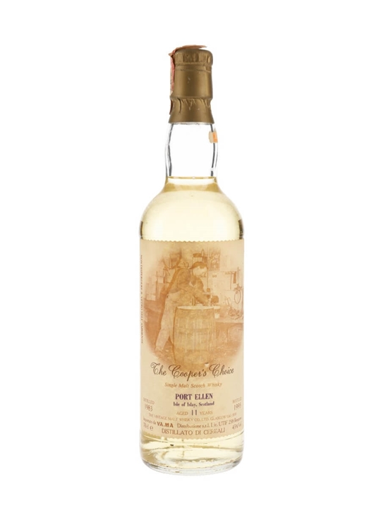 Port Ellen 1983 / 11 Year Old / The Cooper's Choice Islay Whisky