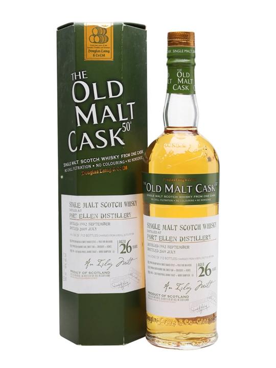 Port Ellen 1982 / 26 Year Old / Old Malt Cask Islay Whisky