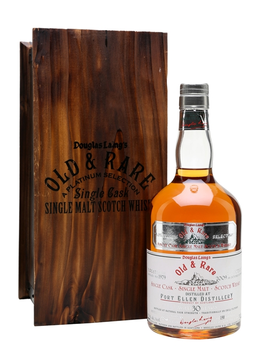 Port Ellen 1979  30 Year Old  Platinum Selection Islay Whisky