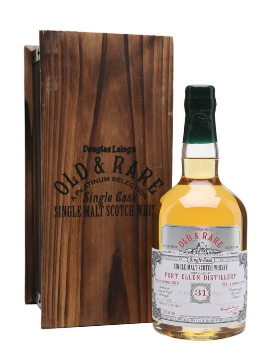 Port Ellen 1979 / 31 Year Old / Old & Rare Platinum Islay Whisky