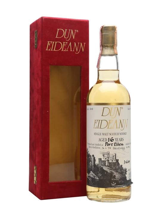 Port Ellen 1979 / 16 Year Old / Dun Eideann Islay Whisky