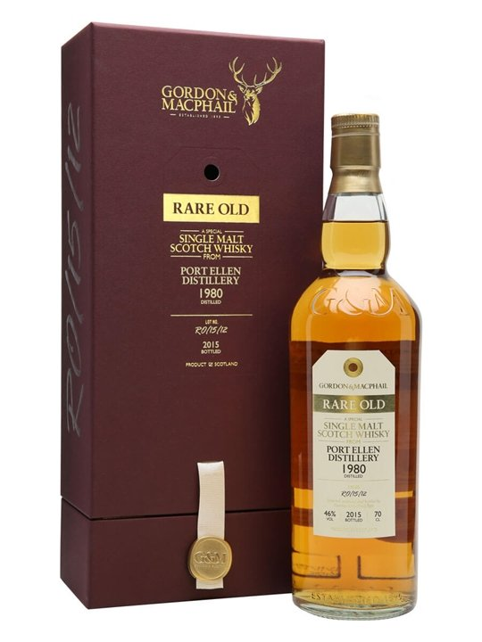 Port Ellen 1980 / 34Year Old / Rare Old / Gordon & MacPhail Islay Whisky