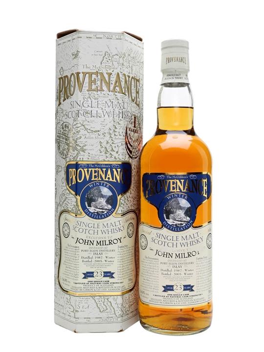 Port Ellen 1982 / 23 Year Old / Sherry / John Milroy Islay Whisky