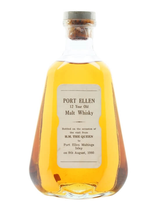 Port Ellen 12 Year Old / Queen's Visit to Distillery in 1980 Islay Whisky