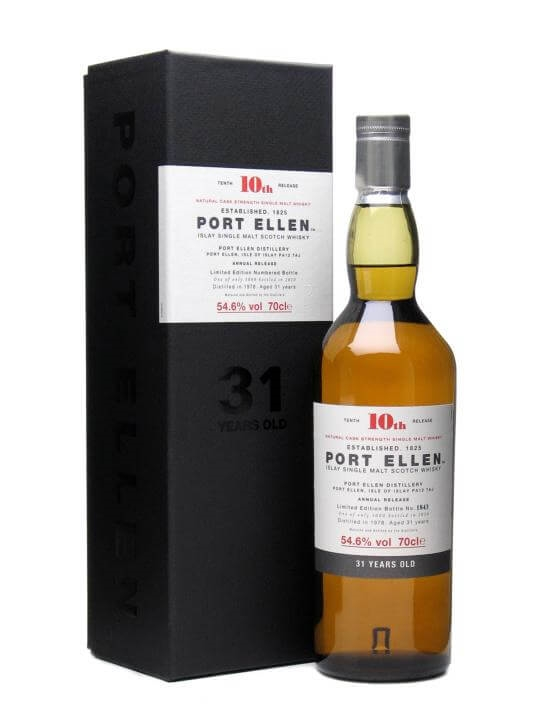 Port Ellen 1978 / 31 Year Old / 10th Release (2010) Islay Whisky