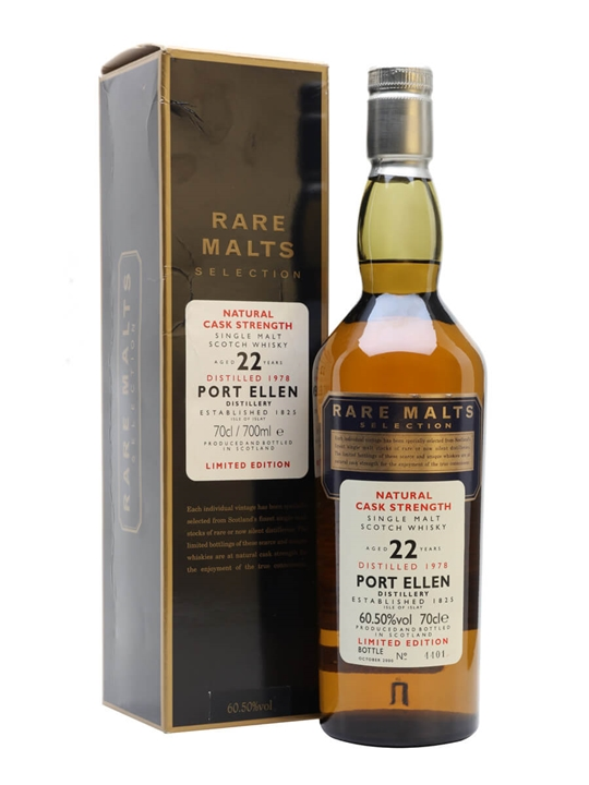 Port Ellen 1978 / 22 Year Old / Rare Malts Islay Whisky