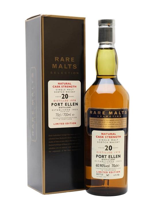 Port Ellen 1978 / 20 Year Old / Rare Malts Islay Whisky