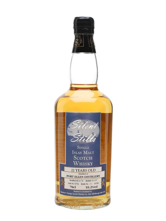 Port Ellen 1974 / 22 Year Old / Silent Stills Islay Whisky