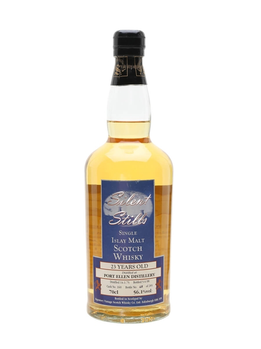 Port Ellen 1975 / 23 Year Old / Silent Stills Islay Whisky