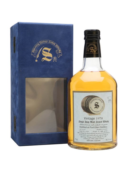 Port Ellen 1978 / 23 Year Old / Signatory Islay Whisky
