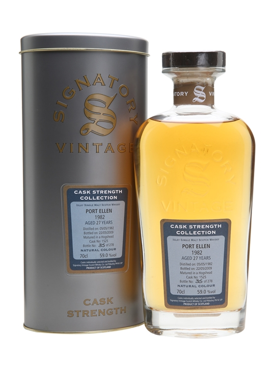 Port Ellen 1982 / 27 Year Old / Signatory Islay Whisky