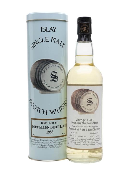Port Ellen 1983 / 13 Year Old / Signatory Islay Whisky