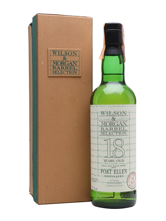 Port Ellen 1977 / 18 Year Old / Wilson & Morgan Islay Whisky