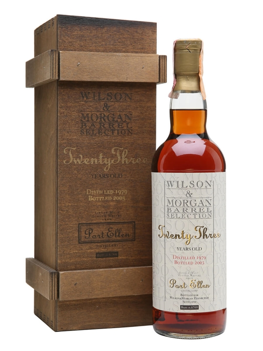 Port Ellen 1979 / 23 Year Old / Sherry Cask / Wilson & Morgan Islay Whisky