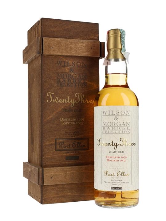 Port Ellen 1979 / 23 Year Old / Cask #6778 / Wilson & Morgan Islay Whisky