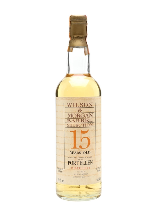 Port Ellen 1980 / 15 Year Old / Wilson & Morgan Islay Whisky