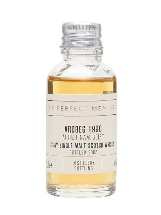 Ardbeg 1990 Airigh Nam Beist Sample / Bot.2008 Islay Whisky