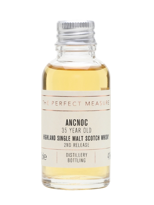 Ancnoc 35 Year Old Sample / 2nd Release Highland Whisky