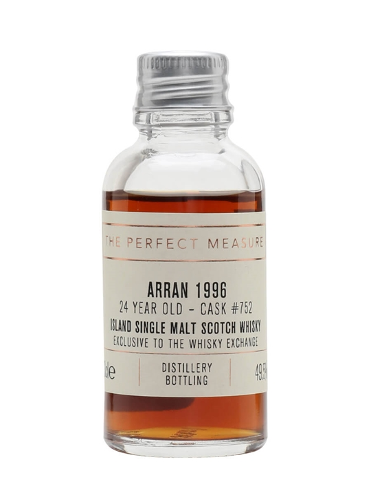 Arran 1996 Sample / 24 Year Old / Exclusive To The Whisky Exchange Island Whisky