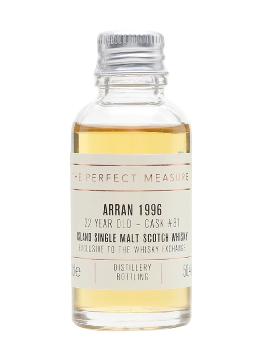 Arran 1996 Sample / 22 Year Old / Twe Exclusive Island Whisky